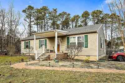 Cape May Court House Single Family Home For Sale: 34 Brooks Avenue