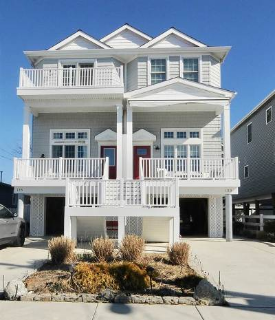 Sea Isle City Townhouse For Sale: 133 40th Street #East