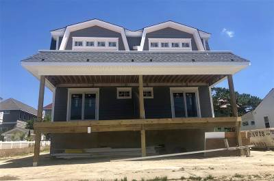 Stone Harbor Townhouse For Sale: 254 84th Street #East