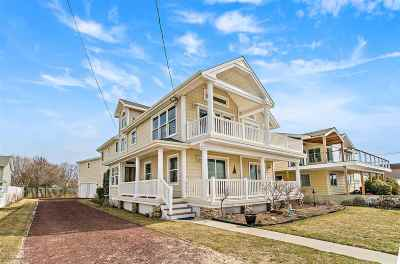 North Cape May Single Family Home For Sale: 503 Beach Drive