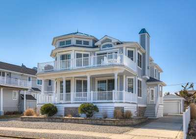 Stone Harbor Single Family Home For Sale: 395 93rd Street