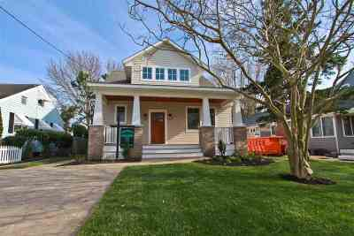 Cape May Single Family Home For Sale: 1210 Maryland Avenue