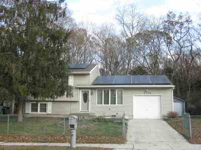 North Cape May Single Family Home For Sale: 1208 Sunnyside Drive
