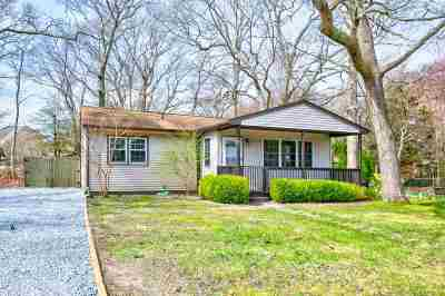 Cape May Court House Single Family Home For Sale: 89 Indian Trail Road