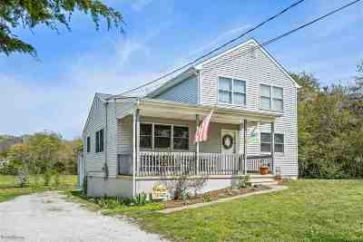 North Cape May Single Family Home For Sale: 155 Fishing Creek Road