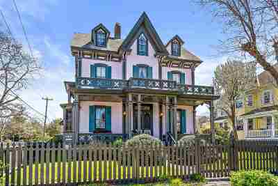 Cape May Single Family Home For Sale: 664 Hughes Street