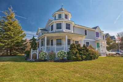 Cape May Single Family Home For Sale: 10 Swan Avenue