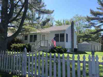 North Cape May Single Family Home Under Contract: 688b Townbank Road