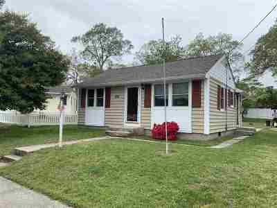 North Cape May Single Family Home For Sale: 404 Gorham Avenue
