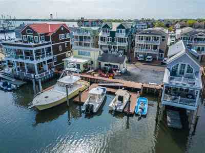 Cape May Single Family Home For Sale: 1527-1529 Yacht Ave