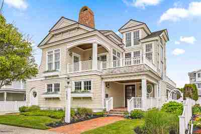 Avalon NJ Single Family Home For Sale: $4,999,999