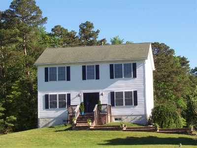 Single Family Home For Sale: 470 Dennisville Petersburg Road