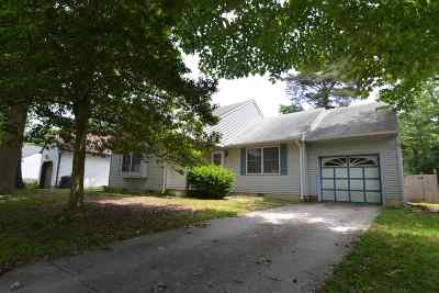 North Cape May Single Family Home Under Contract: 52 Heron Way