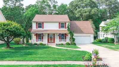 North Cape May Single Family Home For Sale: 5 Loblolly Lane