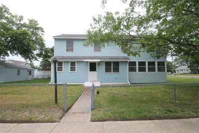 North Cape May Single Family Home Under Contract: 1602 Franklin Avenue