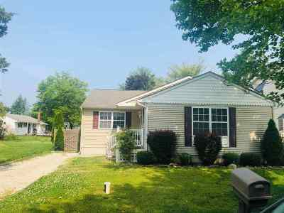 Single Family Home For Sale: 3 N 16th Street
