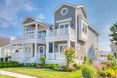Stone Harbor NJ Single Family Home For Sale: $3,495,000