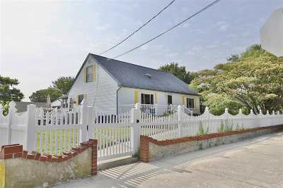 North Cape May NJ Single Family Home For Sale: $599,900