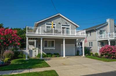 Stone Harbor Single Family Home For Sale: 165 99th Street