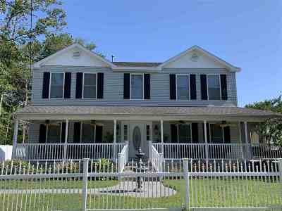 Single Family Home For Sale: 37 W New York Avenue