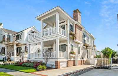 Stone Harbor NJ Single Family Home For Sale: $3,595,000