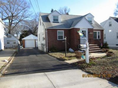 Rahway City NJ Single Family Home SOLD: $235,000