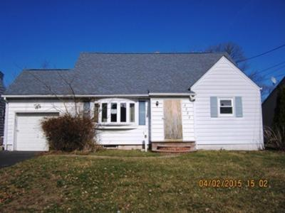 Union Twp. NJ Single Family Home Sold: $167,900