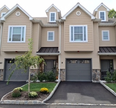 East Hanover Twp. Condo/Townhouse For Sale: 14 North Ridge Circle #14