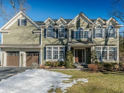 Westfield Town NJ Single Family Home Sale Pending: $1,595,000