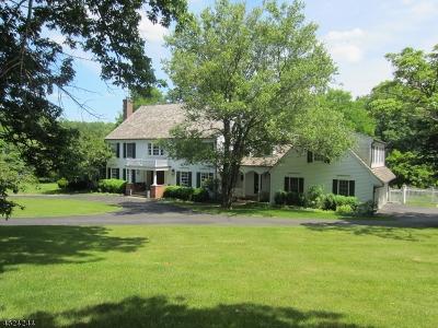 Bernardsville Boro Single Family Home For Sale: 100 Post Kennel Rd