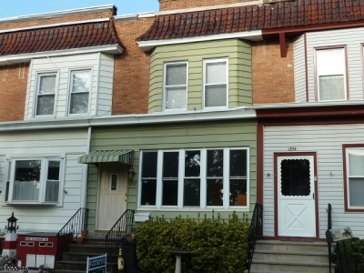 RAHWAY Single Family Home For Sale: 1352 Bryant St