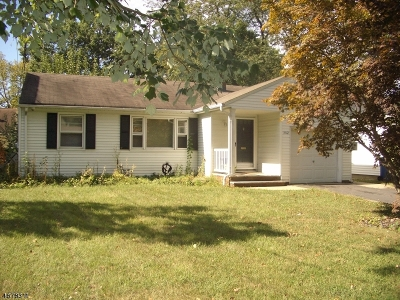 Scotch Plains Twp. Single Family Home Active Under Contract: 362 Jackson Ave