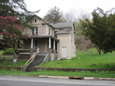 Oxford Twp. NJ Single Family Home For Sale: $51,267