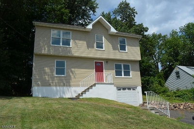West Orange Twp. Single Family Home For Sale: 523 Mt Pleasant Ave