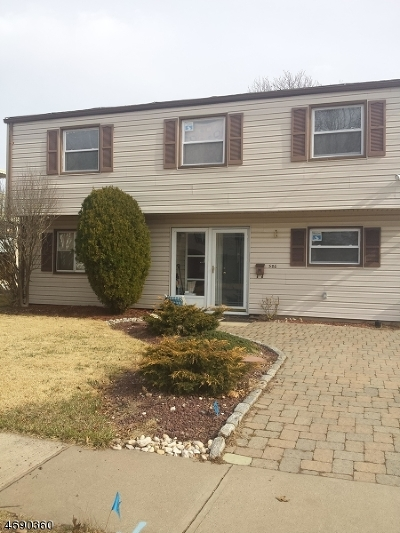Woodbridge Twp. Single Family Home For Sale: 586 Watson Ave