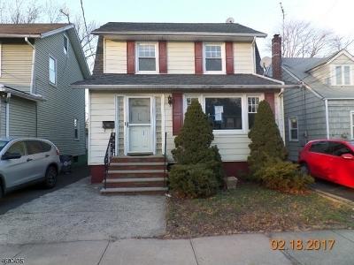 HILLSIDE Single Family Home For Sale: 125 Virginia St