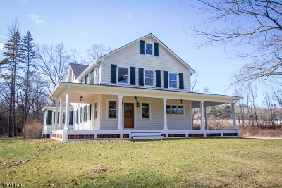 Morris Twp. Single Family Home For Sale: 82 Whitehead Rd