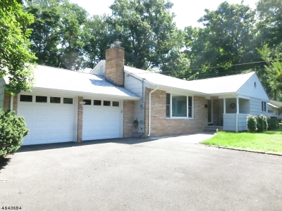 Scotch Plains Twp. Single Family Home For Sale: 307 Roberts Ln