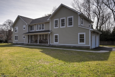 Morris Twp. Single Family Home For Sale: 329 Madison Ave