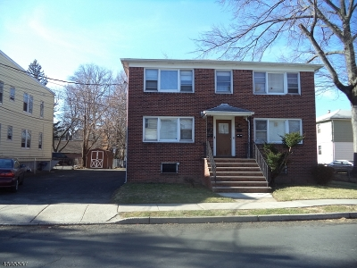 Essex County, Morris County, Union County Multi Family Home For Sale: 103 Fuller Place