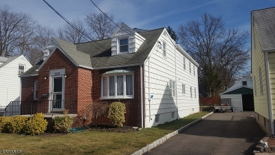 Rahway City Single Family Home For Sale: 2251 Winfield St