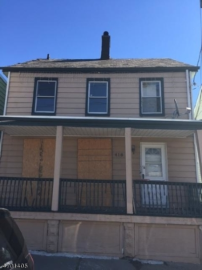 Perth Amboy City Single Family Home For Sale: 418 Mechanic St