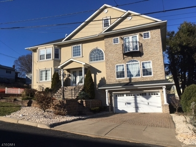 Nutley Twp. NJ Single Family Home For Sale: $675,000