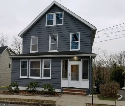 Essex County, Morris County, Union County Multi Family Home For Sale: 92 Rector St