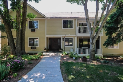 Morris Plains Boro Condo/Townhouse Active Under Contract: 15c Foxwood Dr #c
