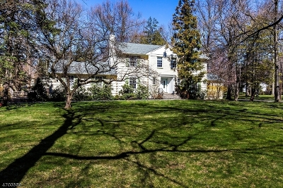 Scotch Plains Twp. Single Family Home For Sale: 1171 Cooper Rd