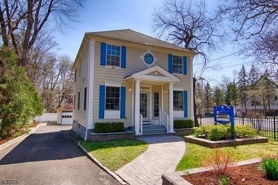 Bernardsville Boro Single Family Home For Sale: 5 Seney Drive