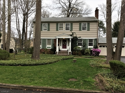 Cranford Twp. Single Family Home For Sale: 626 Riverside Dr
