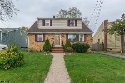 Roselle Park Boro Single Family Home For Sale: 507 Chester Ave