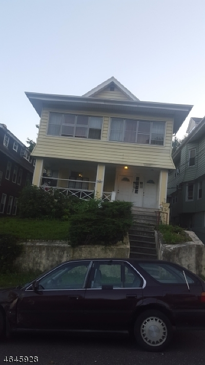 Passaic City Multi Family Home For Sale: 93 Ascension St